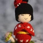 Japonská panenka Kokeshi